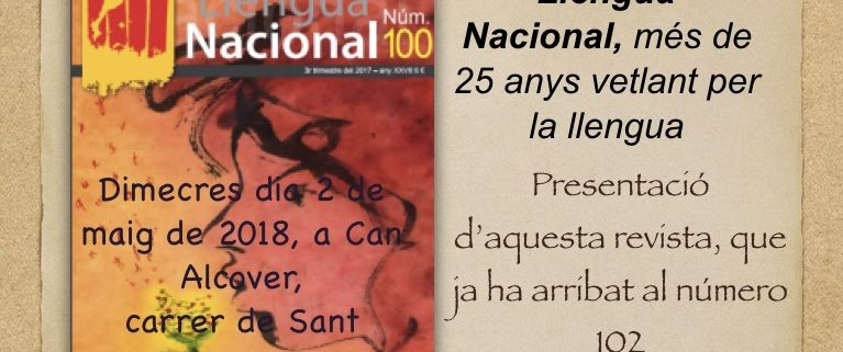 Presentació Llengua Nacional a Palma